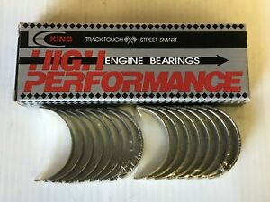 King High Performance 289 302 Rod Bearings 10 Under Size Size Cr854hp10