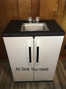 Portable Nsf Sink Mobile Handwash Self Contained Hot Water Concession