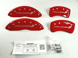 Mgp Caliper Covers 12162scl1rd Challenger Ll Engraved Caliper Cover