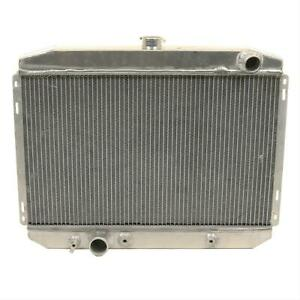 Summit Racing Radiator Direct Fit Aluminum Natural Ford Mustang Each 380479