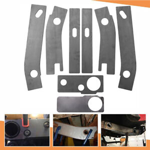8 Frame Repair Rusted Shackle Weld Plate Fit For 1986 1995 Jeep Wrangler Yj Rear