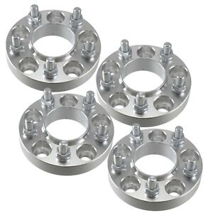 4 1 Inch Hubcentric 5x4 75 Wheel Spacers Adapters 66 9mm Hub Bore 5x120 7