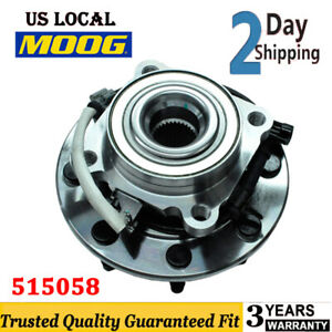 Moog 515058 Front Wheel Hub Bearing For Gmc Sierra 1500 Chevrolet Silverado 1500