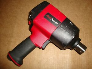 Chicago Pneumatic Rp8084 Redipower 1 drive Magnesium Impact Wrench 6500rpm