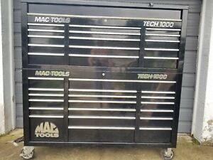 Mac Tools Tool Box Tech1000 19 Drawer Work Station 15 Drawer Top Chest W Cover