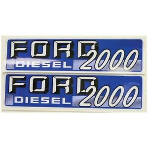 66702 New Ford Hood Decal Kit 2000 Diesel Super Dextra 62 64
