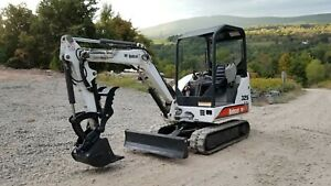 2011 Bobcat 325g Excavator Hydraulic Thumb Kubota Diesel Financing Available