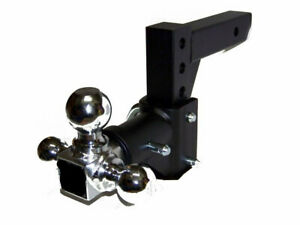 3 Ball Adjustable Trailer Tow Drop Hitch Ball Mount Towing Truck 2 Inch Receiver
