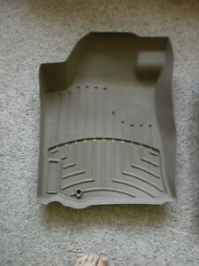 Weather Tech Tan Used Floor Mats 2009 2014 Nissan Maxima Front And Rear Set Nice