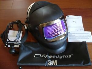 3m Speedglas 9100v Fx Darkening Welding Helmet W side Windows hornell Speedglass