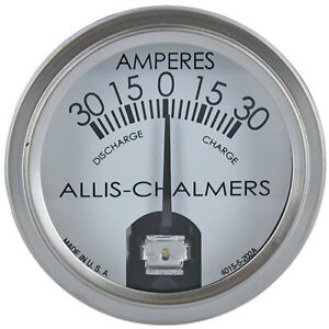 70228717 Ammeter For Allis Chalmers Tractor Models B C G Ca H3 Rc