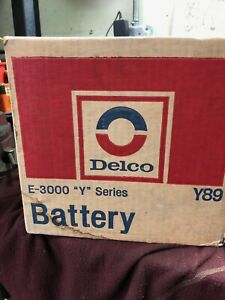 1968 1972 Corvette Oem Delco Battery Never Opened