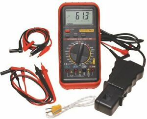 Atd Tools Atd 5570k Deluxe Automotive Meter With Rpm And Temperature Functions