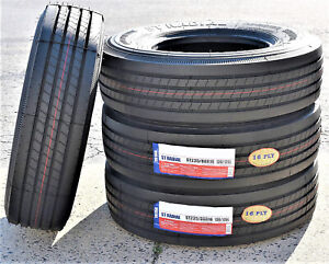 4 New Transeagle All Steel St Radial St 235 80r16 Load H 16 Ply Trailer Tires