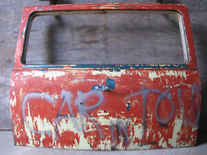 1955 1956 1957 Chevrolet Sedan Delivery Liftgate And Hinge Cover Tailgate 283