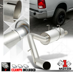 Aluminized Steel 3 Catback Exhaust System For 09 18 Ram 1500 2500 3500 4 7 5 7