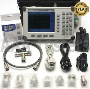 Anritsu S331d Sitemaster Cable Antenna Analyzer Opt3 Color Screen 7 16 Din Kit