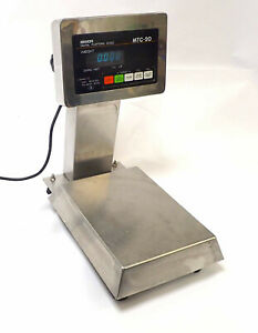 Ishida Digital Platform Scale Mtc 20 6 Lb Capacity 115 120vac 50 60 Hz Tested
