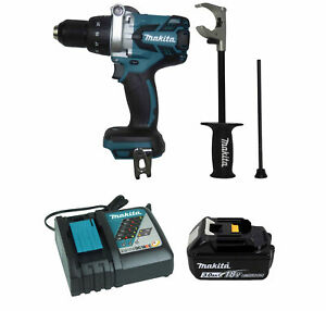 Makita Xph07z 18v 1 2 In Hammer Driver drill 18v 3 0ah Battery Dc18rc Charger