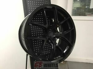 20 F1 Fi Gtr Concave Black Rims Wheels Fits Honda Accord Sport Civic Si