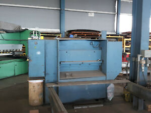 Iron Crafter Mechanical Shear 48 At 3 8 Thick Steel Capacity