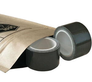 Mini Duct Tape Roll 1 In X 100 In Dark Green 2 Pack 5col Survival Supply