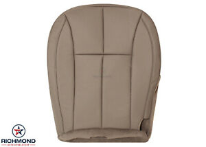 2001 2004 Jeep Grand Cherokee Limited Driver Side Bottom Leather Seat Cover Tan