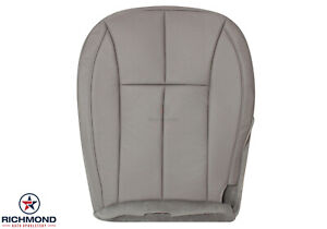 2001 Jeep Grand Cherokee Limited driver Bottom Leather Seat Cover Tan Taupe Gray