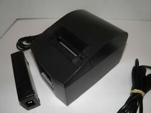Star Tsp600 643c Thermal Pos Receipt Printer Parallel W Power Supply Tested
