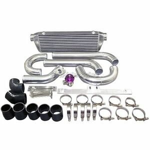 Cx Fmic 28 X7 X 2 5 Intercooler Kit W Bov For Mazdaspeed3 2 3l Disi Turbo Black