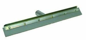 Marshalltown 16842 24 Straight Notched Squeegee Complete W frame W 3 16 Notch