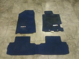 Jdm 02 06 Dc5 Integra Rsx Type R Oem Floor Mats Blue Rhd Right Hand Drive