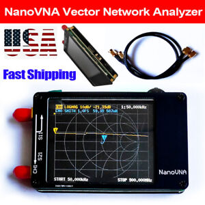 Nanovna Vector Network Analyzer Hf Vhf Uhf Antenna 2 8 Tft Screen 50khz 900mhz