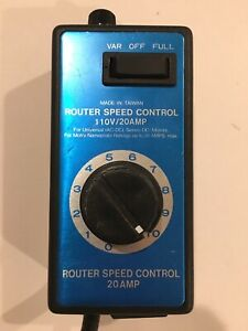Variable Voltage Router Speed Controller 120v 20a Ac