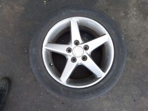 Acura Rsx Type S 16 Single Wheel 02 06 Oem S6m 665a Tire Bald 5 X 114 3