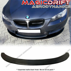 Universal Front Bumper Lip Flat Under Panel Splitter Diffuser Bmw E90 E92 E93
