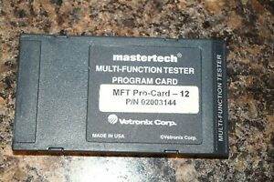Vetronix Mastertech Toyota Diagnostic Program Card Dealer Level