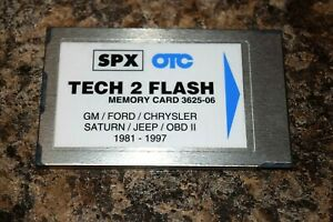 3 In 1 Gm Ford Chrysler Diagnostic Program Card For Tech 2 Scanner 81 97