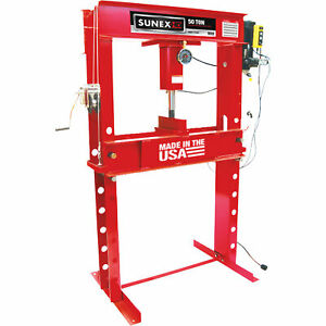 Sunex 50 Ton Electro Hydraulic Shop Press Model 5750ep