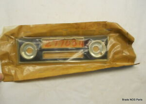 Nos Mopar 1967 Dodge Dart 170 Chrome Radio Bezel With Black Insert Pn 2770345