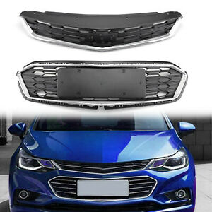 New Front Bumper Upper Grill Middle Lower Grille For Chevrolet Cruze 2016 2018