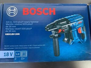 Brand New Bosch Gbh18v 20n 18v 3 4 In Sds plus Rotary Hammer Tool only