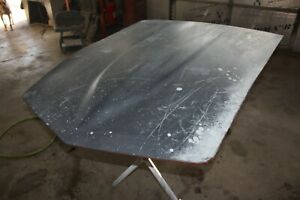 1968 Thru 1969 C3 Corvette Original Gm Fiberglass Small Block Hood Early Style