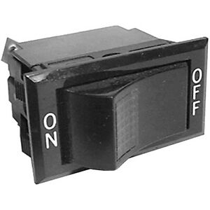 On off Lighted Rocker Switch 15a 277 125v
