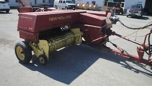New Holland 315 Square Baler Great Used Condition Ready To Work
