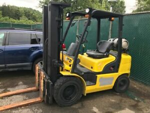 2014 Hyundai Model 30l g 7m Forklift 2wd Sit Down Sideshifter 1322 3 Hours Look