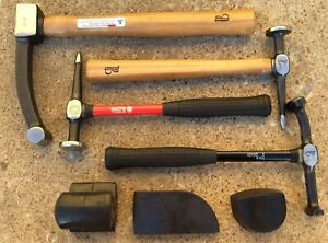 Matco Pro Body 7 Piece Hammer Dolly Tool Set Fender Auto Body Collision Repair