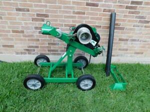 Greenlee Super Tugger With Wheeled Carriage Cable Puller
