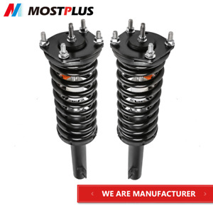 Front Pair Complete Shock Struts For 05 10 Jeep Grand Cherokee 06 10 Commander