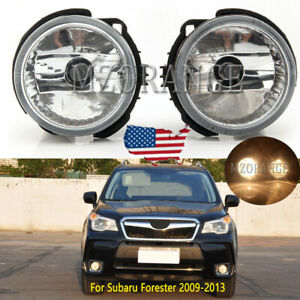 Fog Light For Subaru Forester 2009 2010 2011 2012 2013 Driving Lamp Bumper Front